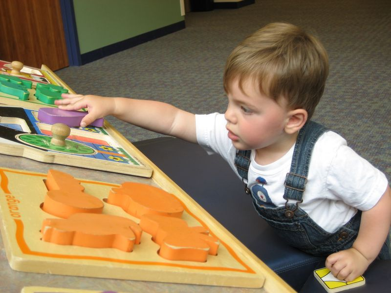 Theo library puzzle 14 mos