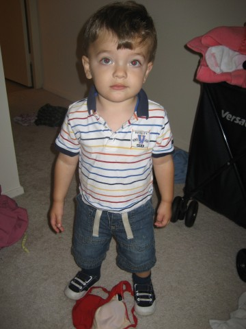 Theo preppy shirt 16 months