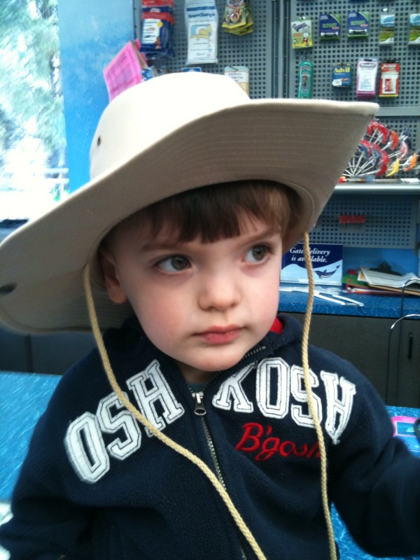 Theo cowboy hat 24 mos