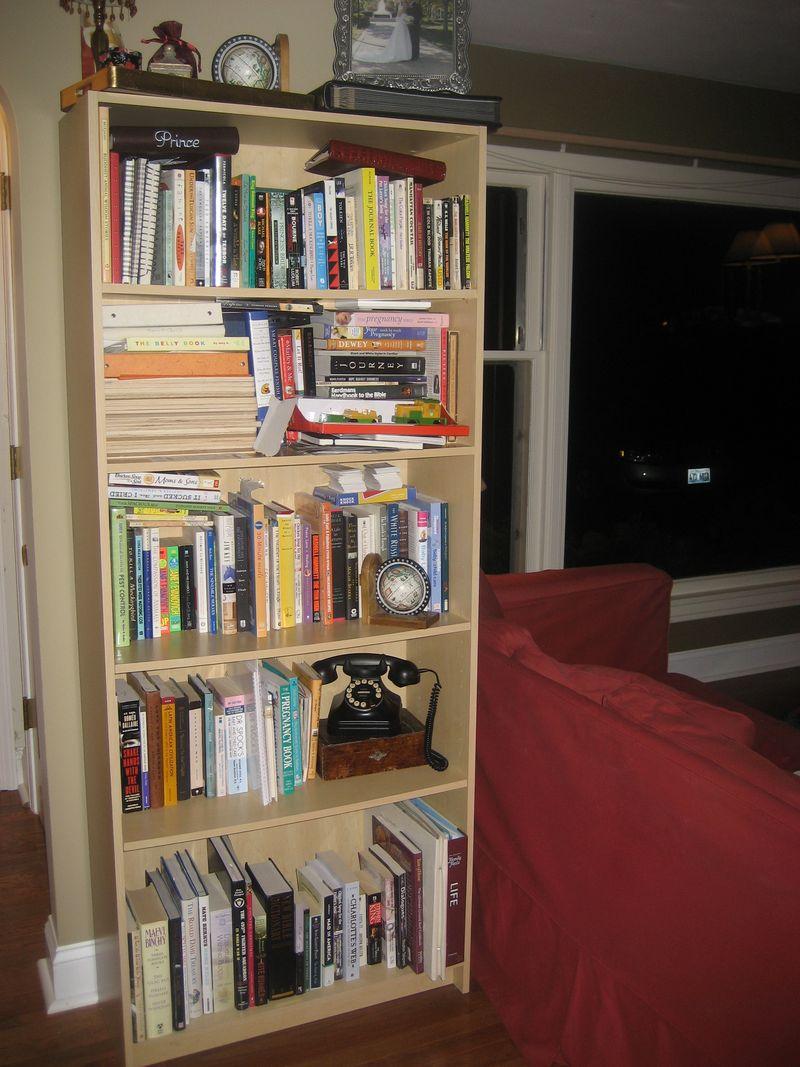 LR bk shelf