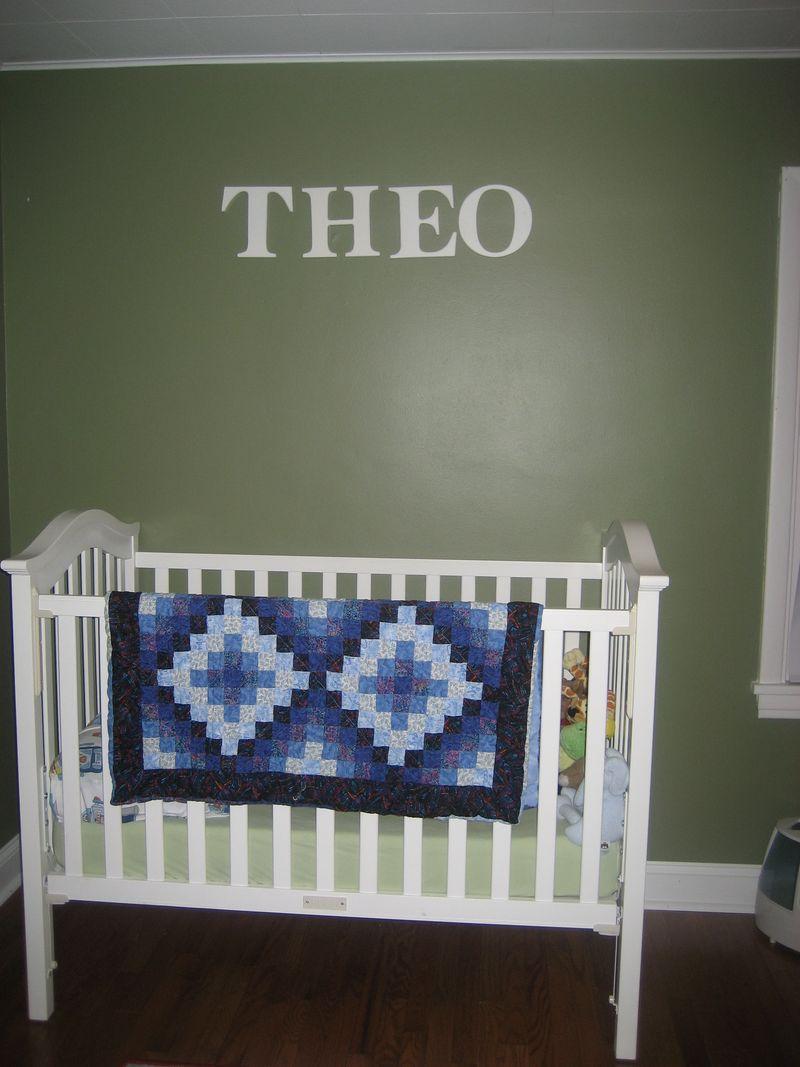 Theo crib